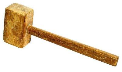 Киянка с деревянным бойком
