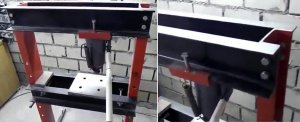 Пример толщины металла в прессе на 20 тонн