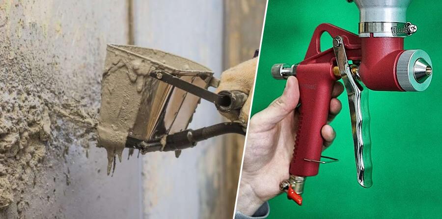 Краскопульт для цементного раствора своими руками бетон эль