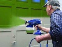 Для бытовых нужд, лучше использовать электрический краскопульт