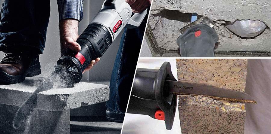 Купить пилу по бетону для сабельной пилы как сделать цементный раствор для стены