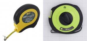 Строительные рулетки для измерения больших расстояний (до 50 метров)